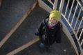 Dans l`escalier- Photographie Gilles RASSON