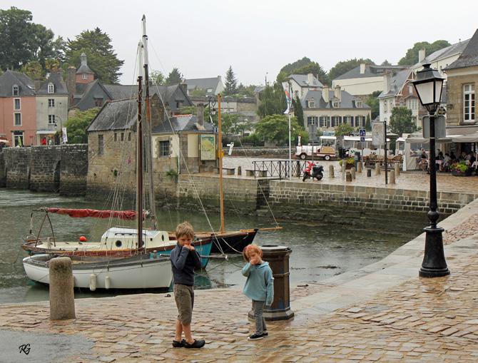 Le Port de Saint-Goustan AURAY