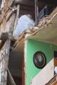 Portrait dans les décombres - Photographie Gilles RASSON